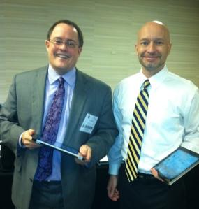 iPad Gurus Tom Mighell, Esq. and Paul Unger, Esq.